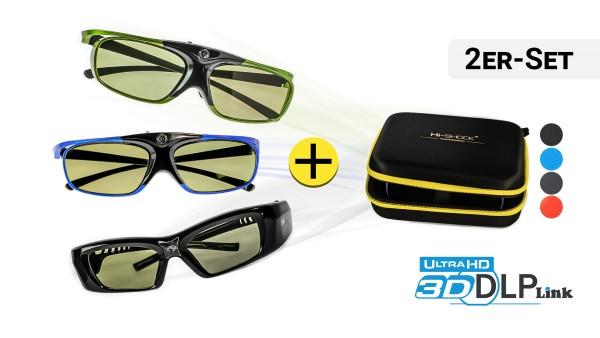 2x 3D-Brille Ihrer Wahl | DLP