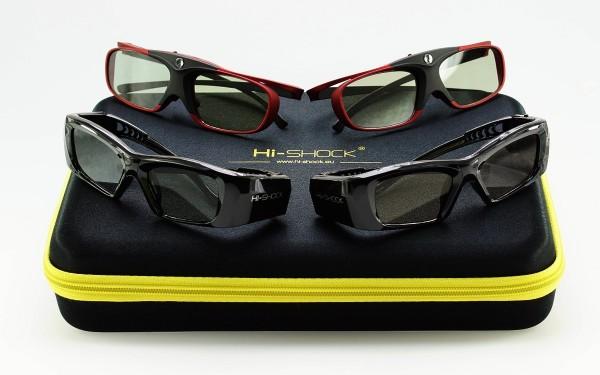 scarlet heaven black diamond active shutter 3d brille familypack
