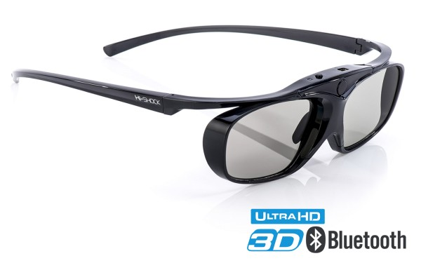 black heaven bt pro bluetooth aktive 3d brille für sony samsung sharp tv