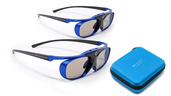 blue heaven dlp link 3d brille für benq acer optoma Dualpack