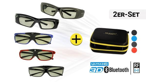 2x 3D-Brille Ihrer Wahl | BT + RF Pro