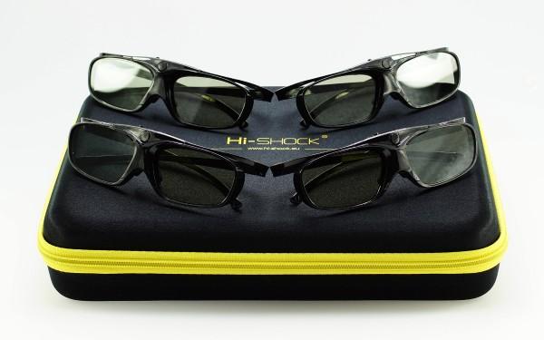 black heaven 3d pro 3d brille für sony jvc hw65 45 epson 6600