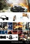 Virtual Reality VR Headset X4 Bundle - Kit mit Touchbutton | Bluetooth Gamepad & Etui