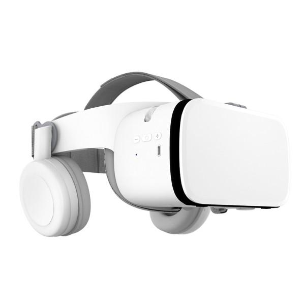 hi-shock x6 vr headset shark mit bluetooth verbindung button kopfhörer qr codes