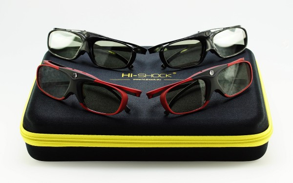 hi-shock bundle familypack set black scarlet heaven 3d brille