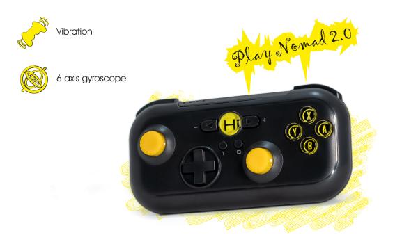 Play Nomad | Bluetooth Gamepad