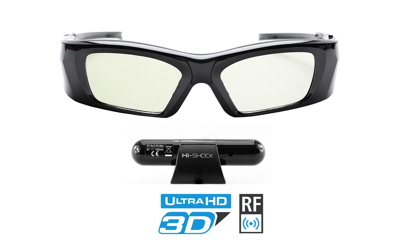 3D Brille & Emitter für Mitsubishi