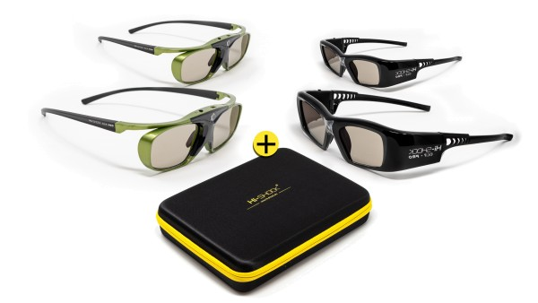 lime heaven black diamond dlp link 3d brille familypack