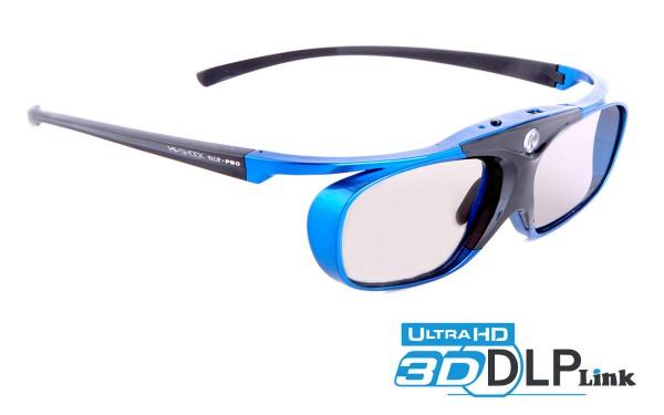 blue heaven dlp link active shutter 3d brille optoma acer benq