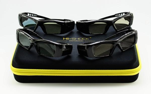jvc polarisierte 3d brille rf frequenz projector beamer black diamond 3d glasses 90 degree
