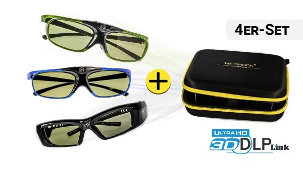 4x 3D-Brille Ihrer Wahl | DLP