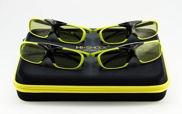 lime heaven geschenkset familypack dlp link 3d brille für beamer