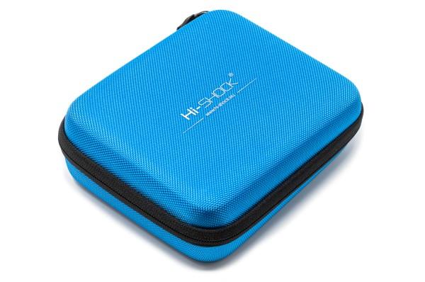 dualcase hardcase etui hi-shock blau für 3d brillen