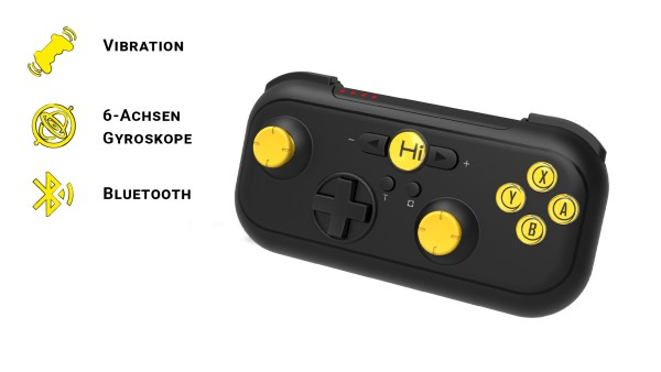 Play Nomad | Bluetooth Gamepad