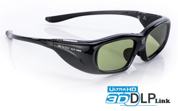 hi-shock black space 3d brille dlp link für acer optoma benq viewsonic