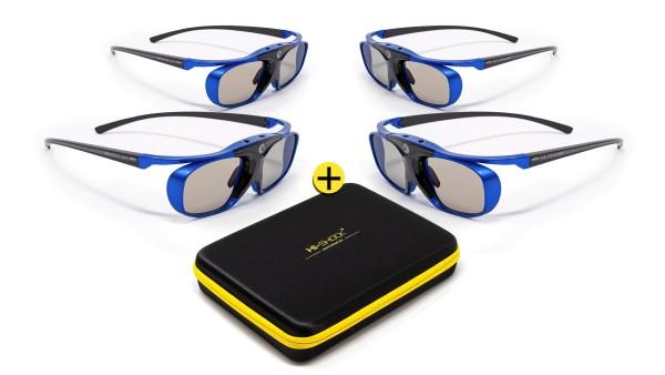 blue heaven dlp link 3d brille für benq acer optoma nec viewsonic