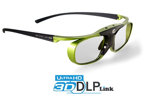 Lime Heaven DLP Link 3D Brille Hi-SHOCK